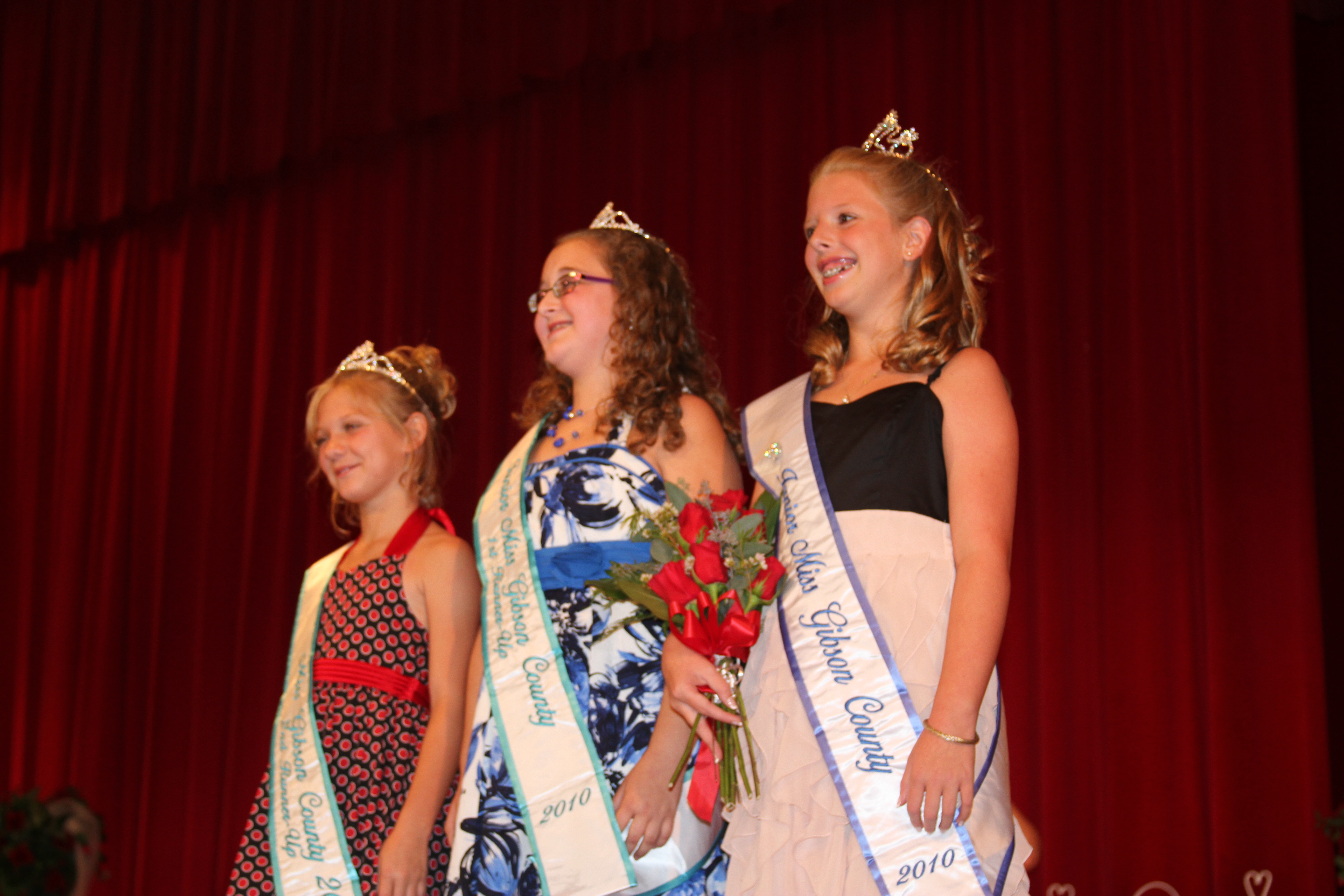 our junior miss was sophia wilhite the queen court this year was great