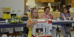 Kayla got a KitchenAid Mixer