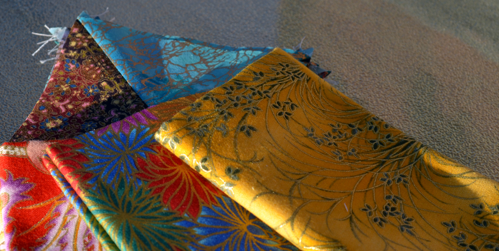fabric for a shiny hst quilt