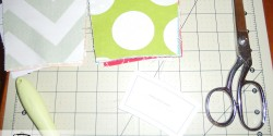cutting fabric for colorist