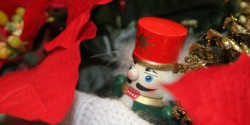 closeup of nutcracker