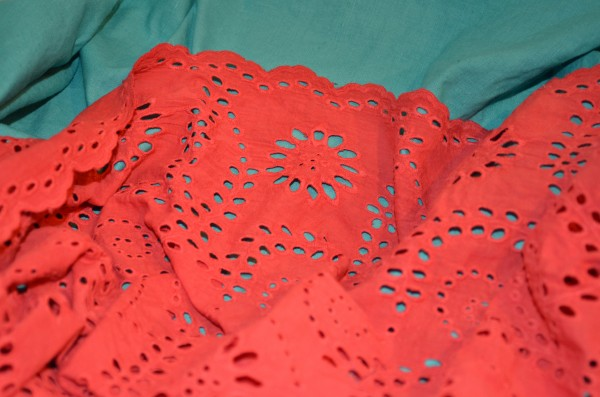 linen and eyelet