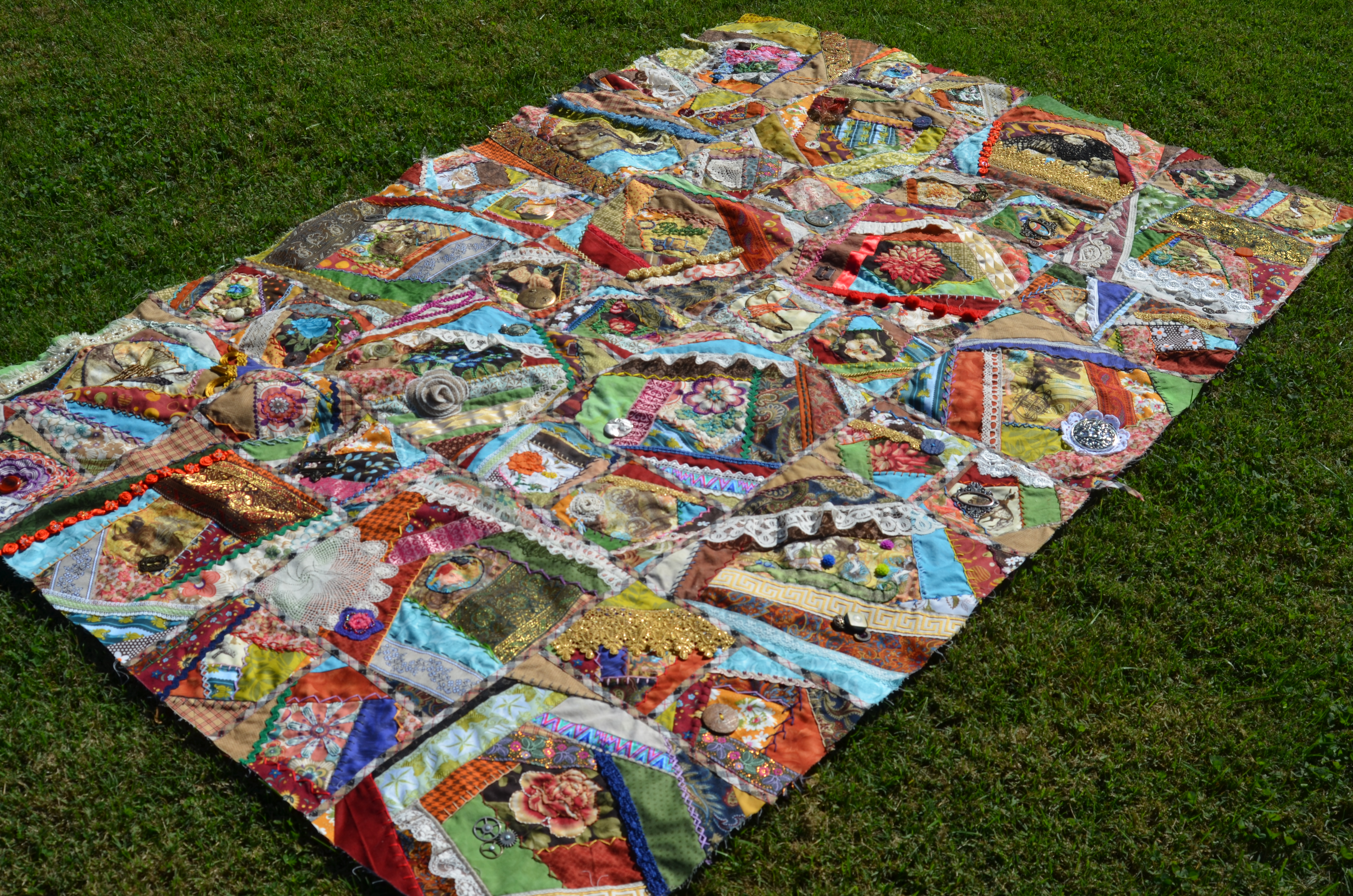 steampunk crazy quilt – Mouse in My Pocket : crazy quilts pictures - Adamdwight.com