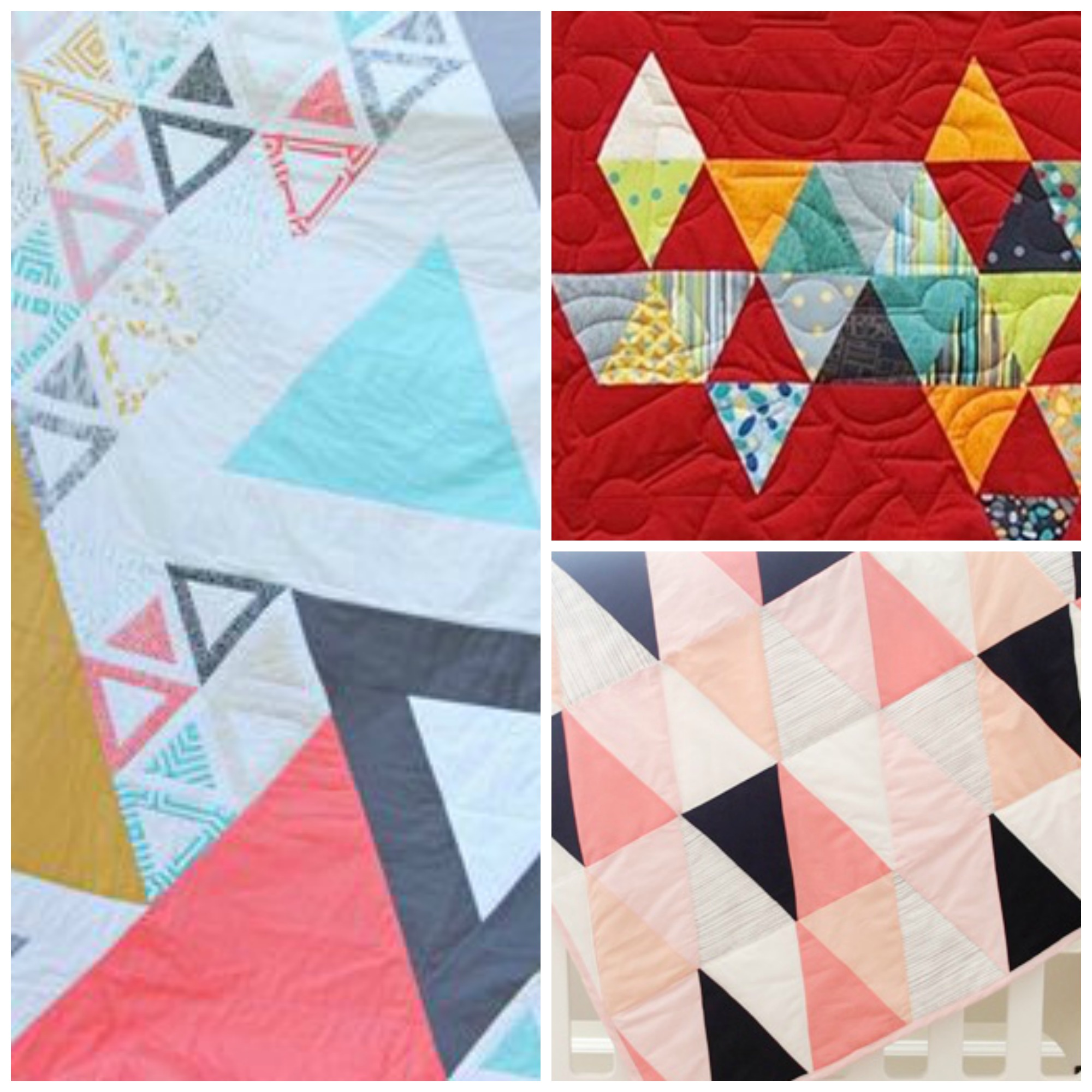 Triangle Quilt Patterns New Decorating