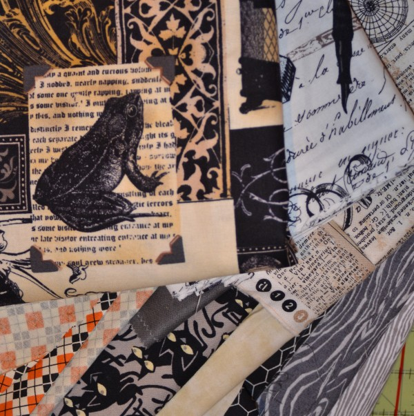 spooky quilt fabric