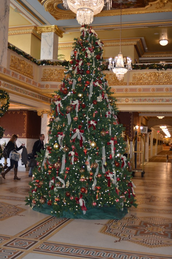 french lick lobby tree