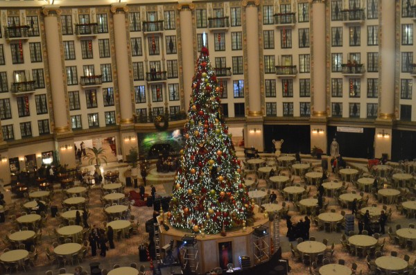 west baden at Christmastime