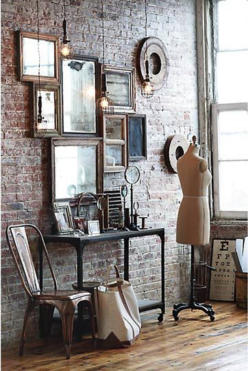 industrial rustic decor