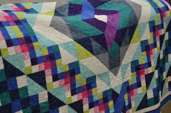 trunk show square knot quilt
