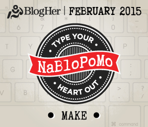 NaBloPoMo_MAKE