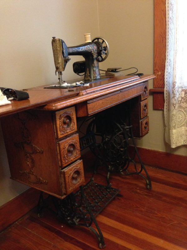 Singer 66 Treadle in #6 Cabinet