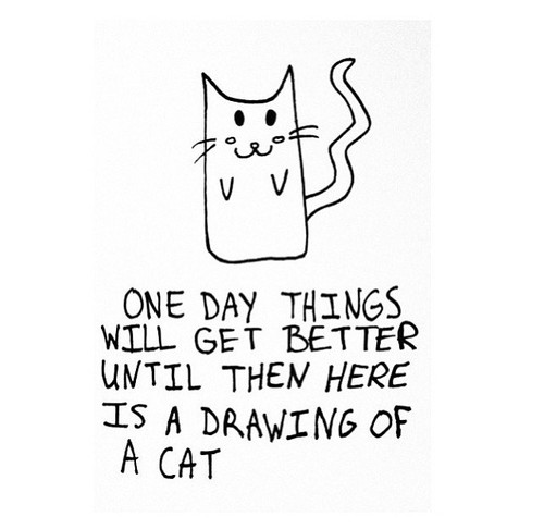 drawing-of-cat