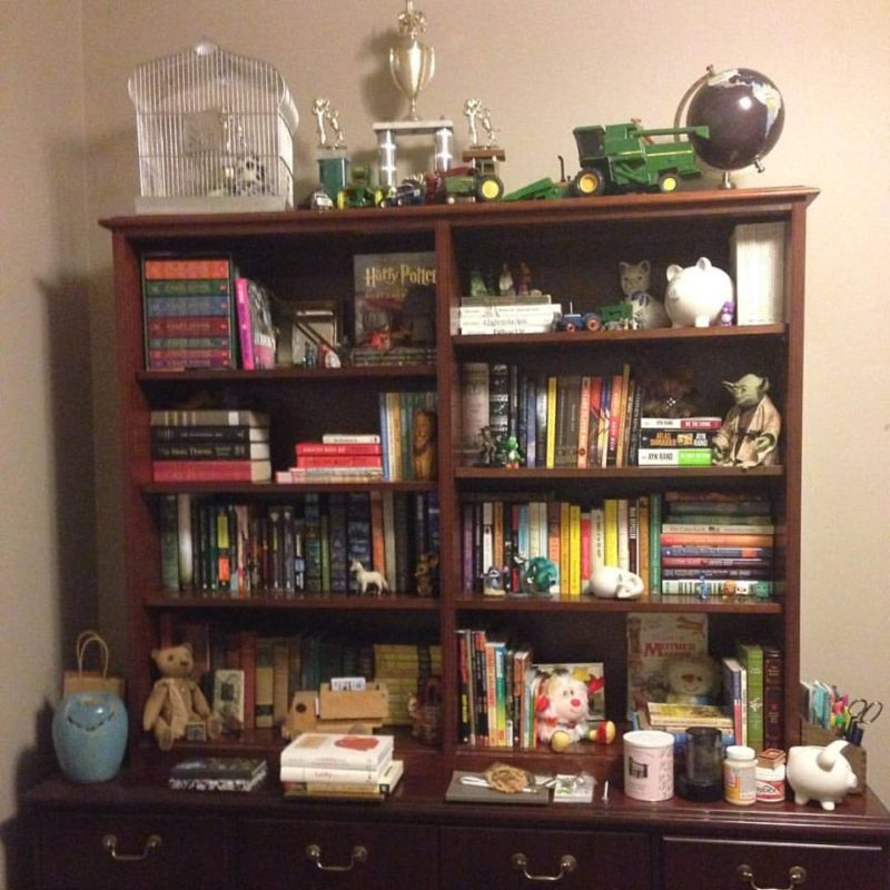 bank bookcase